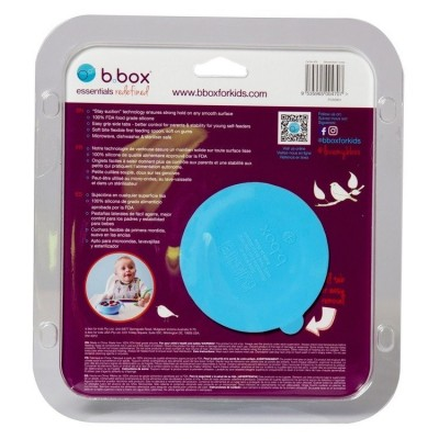 Silikonowa miseczka przyssawką i łyżeczką, Ocean breeze, b.box