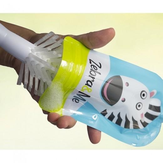 Zebra & Me - 6 SZT Saszetki do karmienia wielorazowe