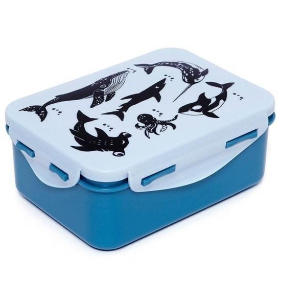 Petit Monkey - Śniadaniówka Lunchbox Deep Blue