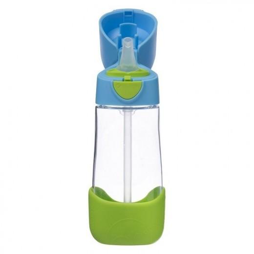 Butelka tritanowa ze słomką 450 ml, Ocean Breeze, b.box