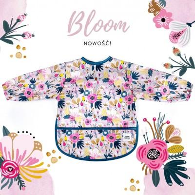 Śliniak z rękawami Bloom