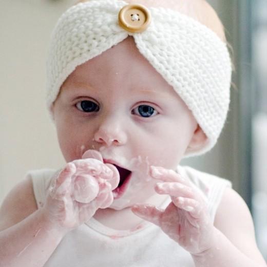 Grabease - Intuicyjne Pierwsze Sztućce - łyżeczka i wiedelczyk Blush