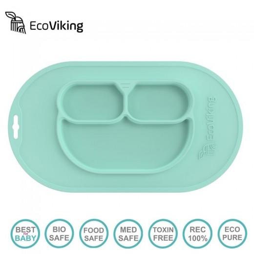 Eco Viking BLW 4 in 1 Eating Helper Owl Mint