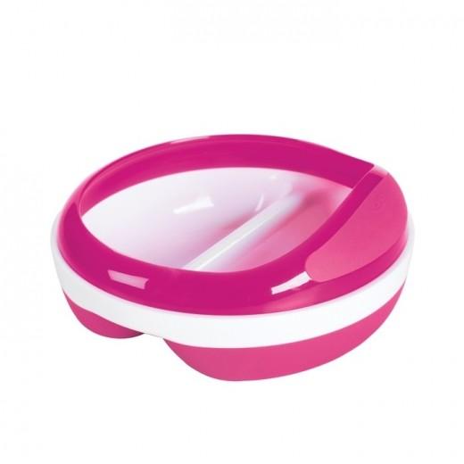 OXO Miska Dzielona z Przykrywką Pink