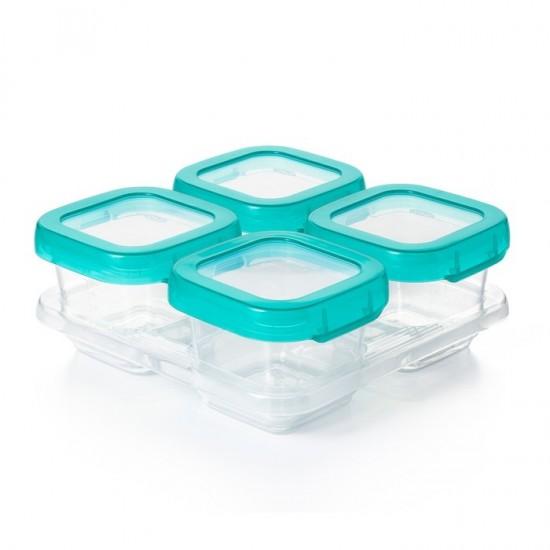 OXO Pojemniki do Zamrażania Żywności 4szt x 190 ml