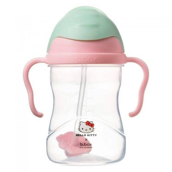 Bidon ze słomką 240 ml, Hello Kitty Candy Floss, b.box