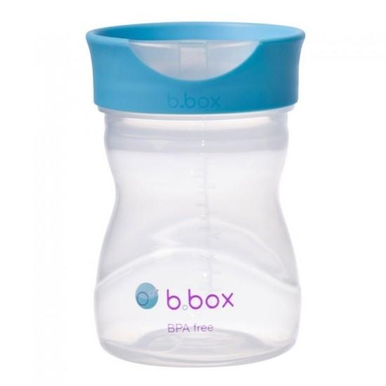 Kubek treningowy 240 ml, borówkowy, b.box